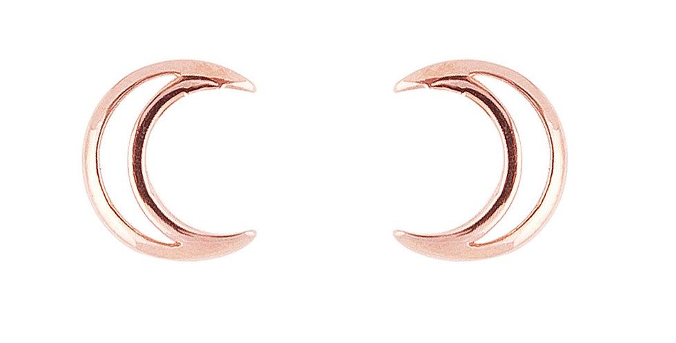 Ohrstecker Luna 925 Sterling Silber rosévergoldet