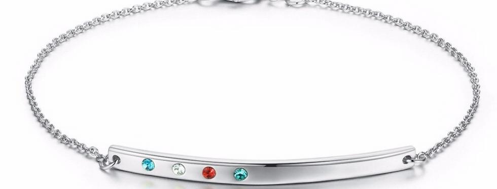 Armband Agneta 925 Sterling Silber Swarovski