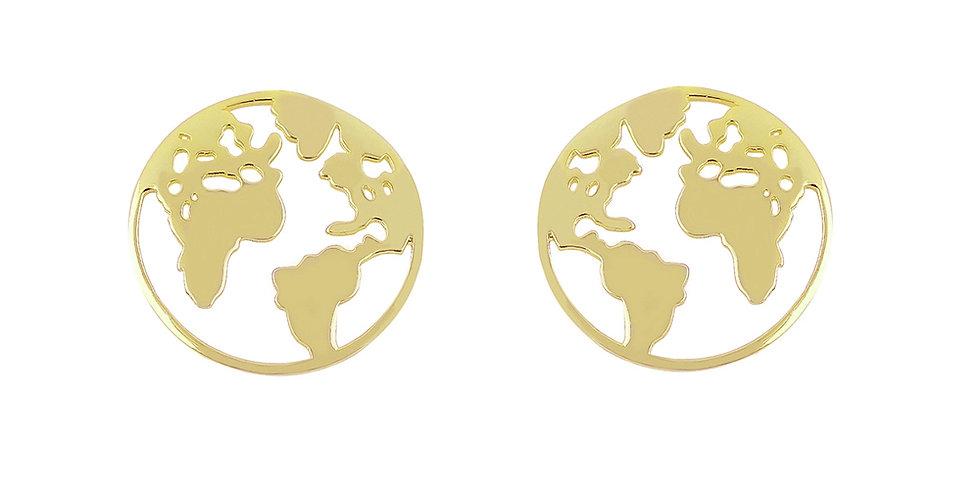 Ohrstecker Elenor 925 Sterling Silber vergoldet