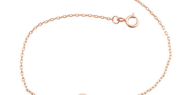 Armband Freya 925 Sterling Silber rosévergoldet