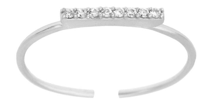 Ring Frieda 925 Sterling Silber Zirkonia