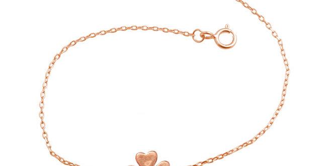 Armband Filippa 925 Sterling Silber rosévergoldet