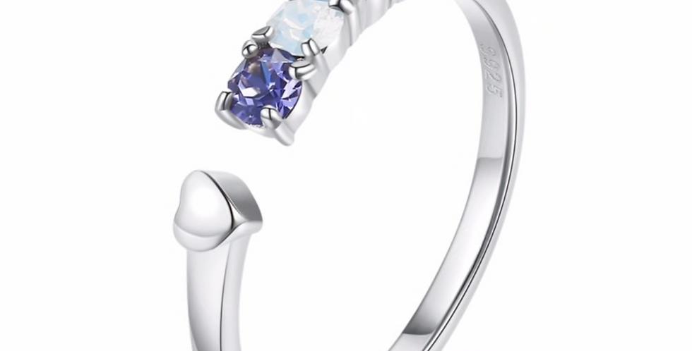 Ring Karla 925 Sterling Silber Swarovski