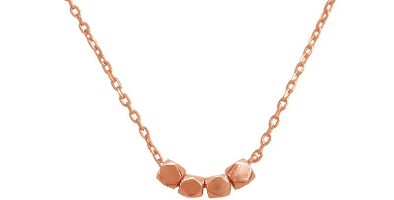 Kette Hanna 925 Sterling Silber rosévergoldet