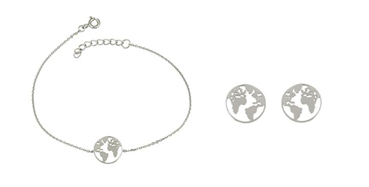 Geschenkset Elenor 925 Sterling Silber