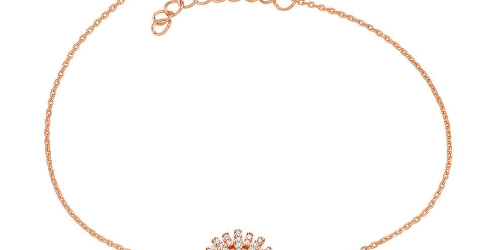 Armband Sunny 925 Sterling Silber rosévergoldet