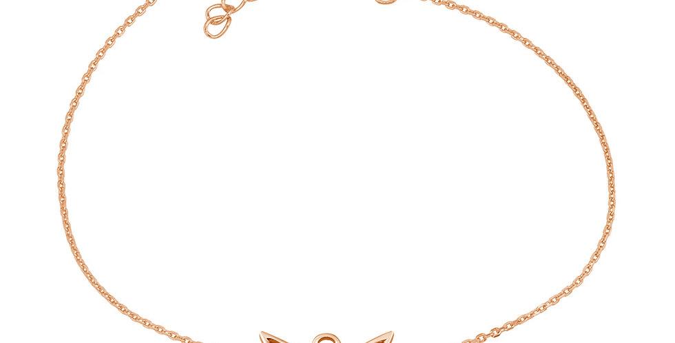 Armband Engla 925 Sterling Silber rosévergoldet