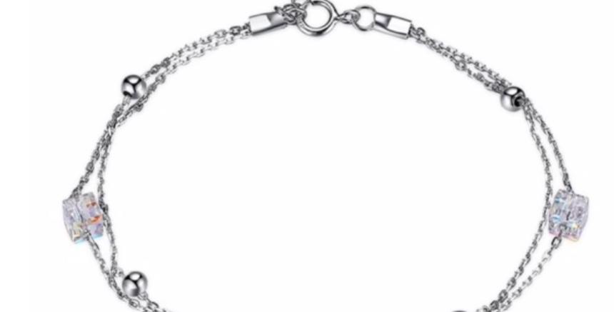 Armband Ida 925 Sterling Silber Swarovski