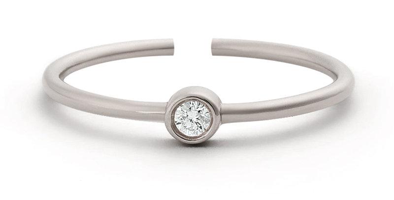 Ring Edda 925 Sterling Silber Zirkonia