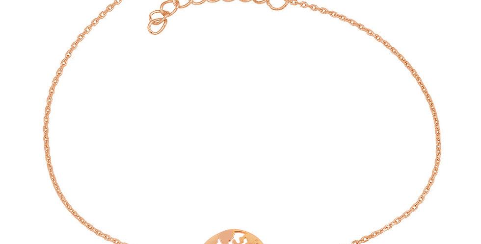 Armband Elenor 925 Sterling Silber rosévergoldet