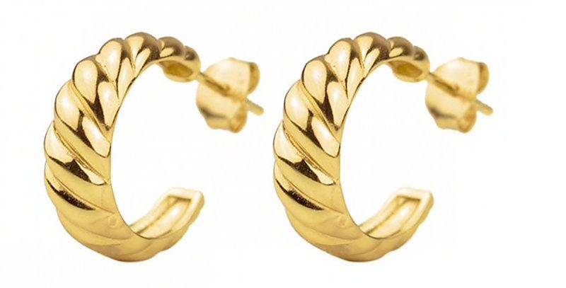 Ohrhänger Inken 925 Sterling Silber vergoldet
