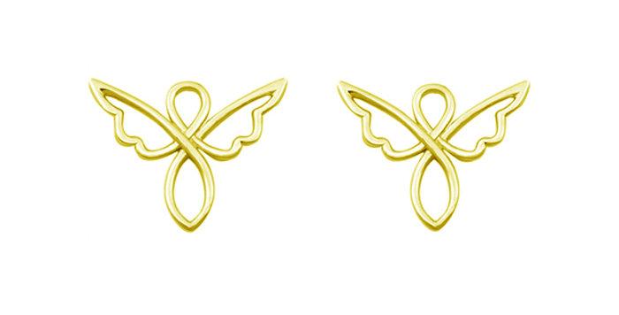 Ohrstecker Engla 925 Sterling Silber vergoldet