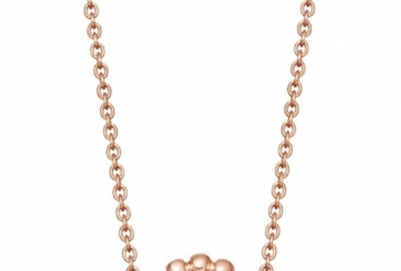 Kette Fia 925 Sterling Silber rosévergoldet