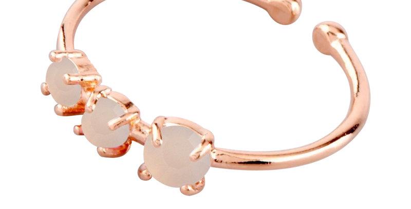 Ring Tilda 925 Sterling Silber rosévergoldet