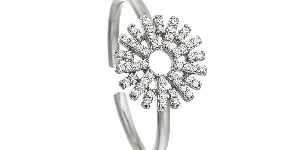 Ring Sunny 925 Sterling Silber Zirkonia