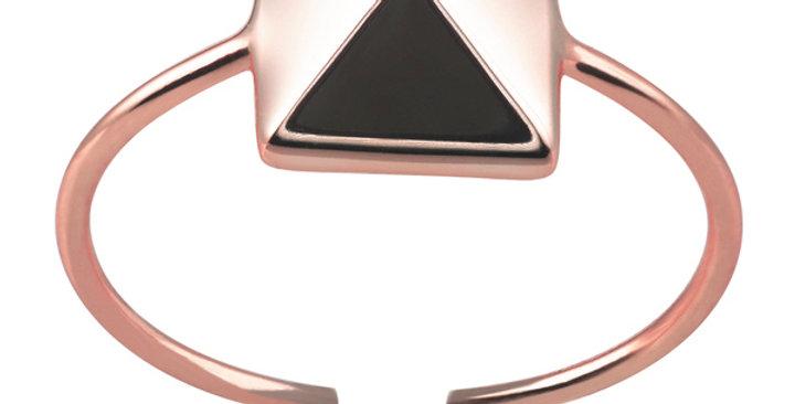 Ring Thora 925 Sterling Silber rosévergoldet