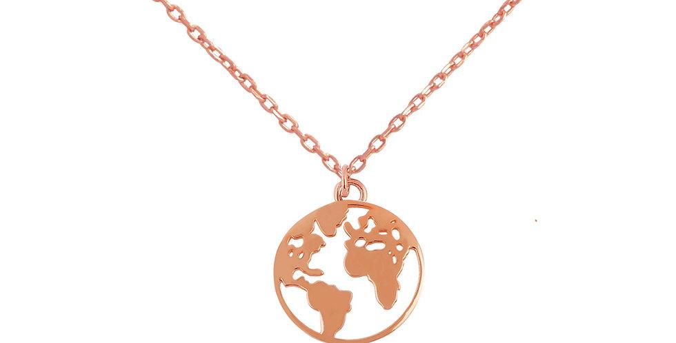 Kette Elenora 925 Sterling Silber rosévergoldet