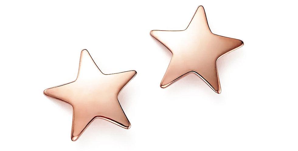 Ohrstecker Kaja 925 Sterling Silber rosévergoldet
