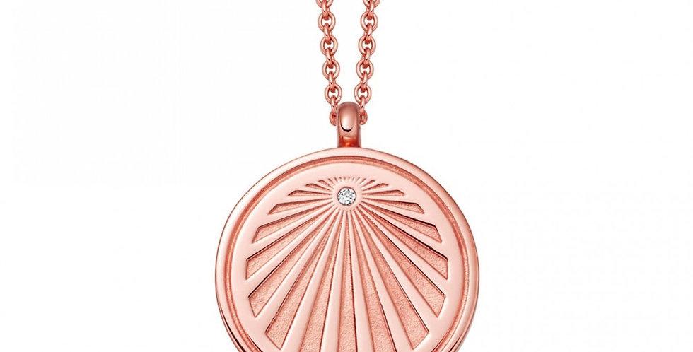 Kette Malena 925 Sterling Silber rosévergoldet