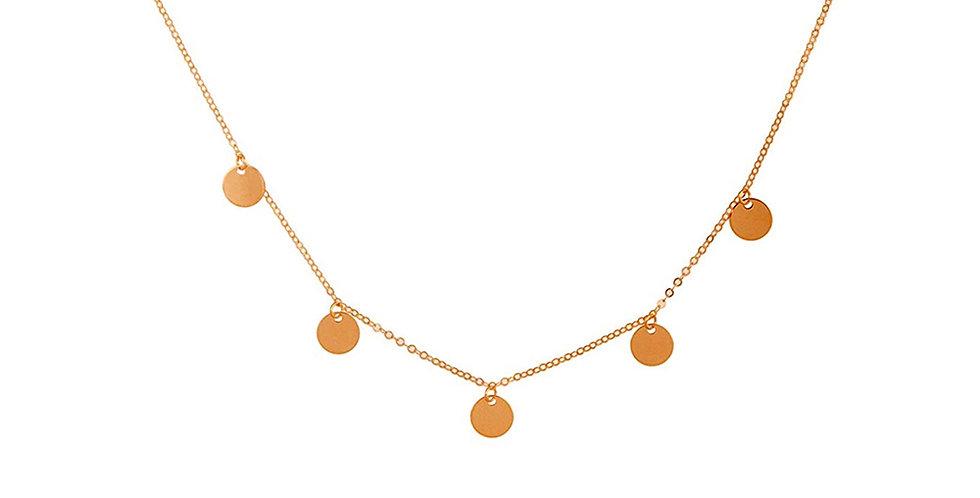 Kette Alva 925 Sterling Silber rosévergoldet