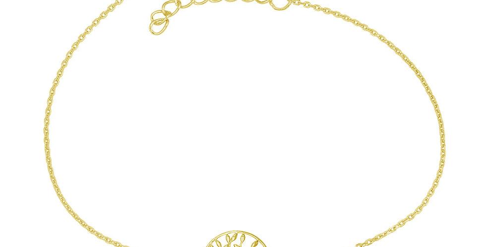 Armband Charlotta 925 Sterling Silber vergoldet