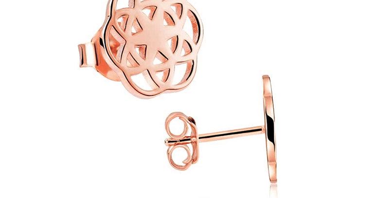 Ohrstecker Florence 925 Sterling Silber rosévergoldet