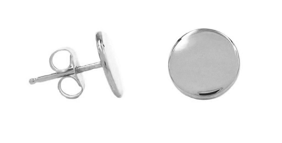 Ohrstecker Freya 925 Sterling Silber - Gravur