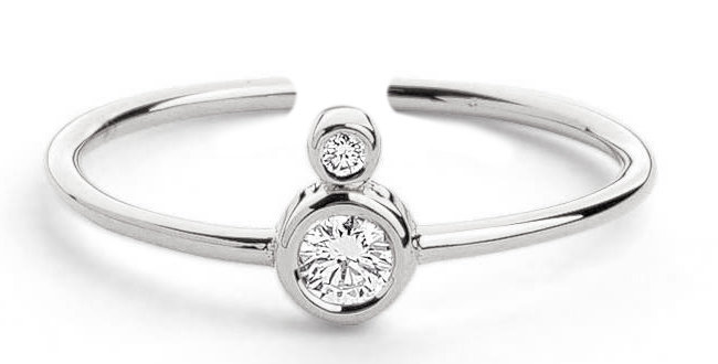 Ring Pia 925 Sterling Silber Zirkonia