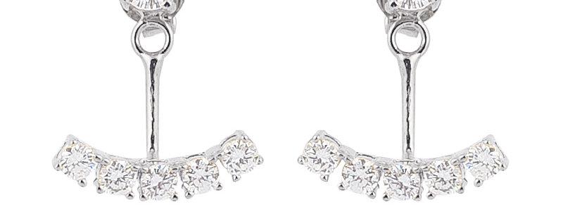 Ohrhänger Bella 925 Sterling Silber Zirkonia