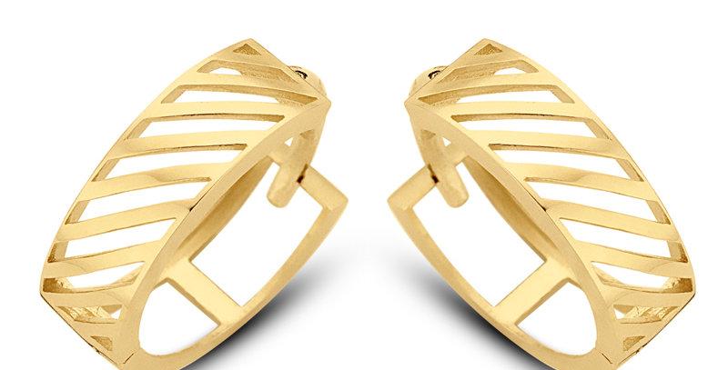 Ohrhänger Kathi 585 Gelbgold