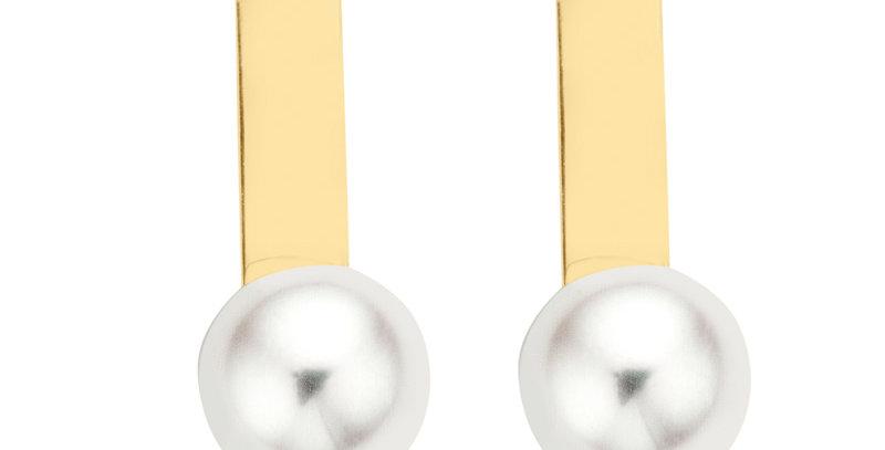 Ohrstecker Leni 585 Gelbgold