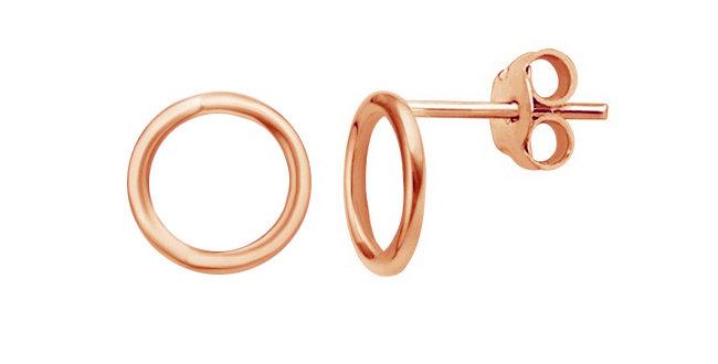 Ohrstecker Emilia 925 Sterling Silber rosévergoldet