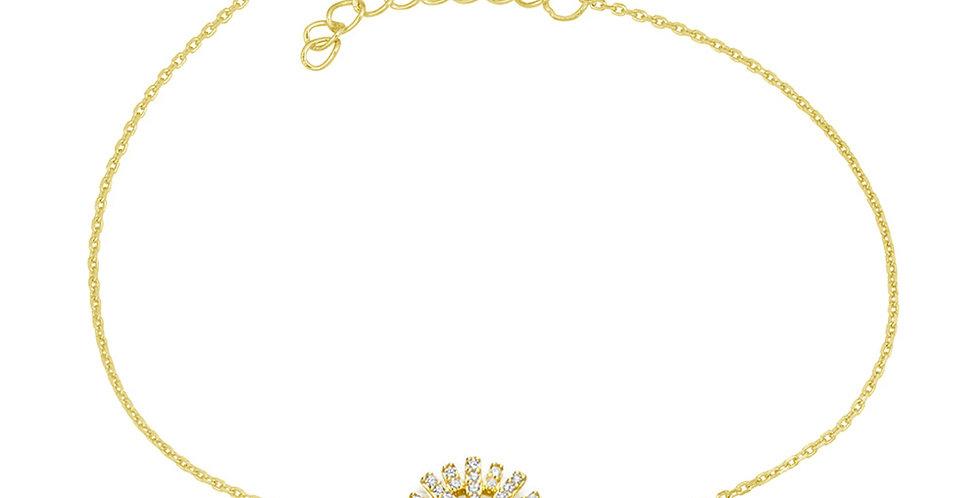 Armband Sunny 925 Sterling Silber vergoldet