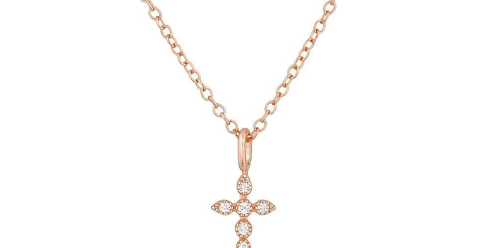 Kette Thea 925 Sterling Silber rosévergoldet