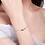 Thumbnail: Armband Karla 925 Sterling Silber vergoldet Swarovski
