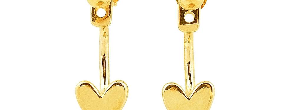 Ohrhänger Liv 925 Sterling Silber vergoldet