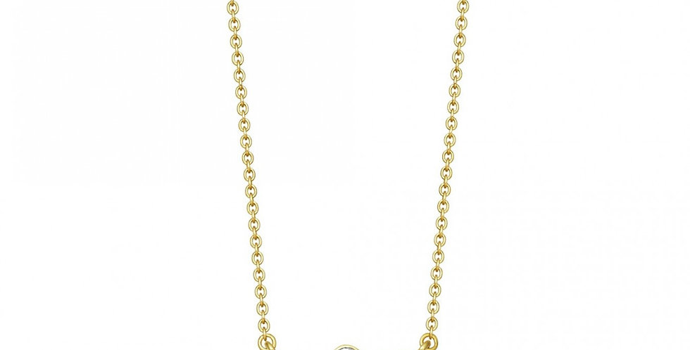 Kette Sophia 925 Sterling Silber vergoldet