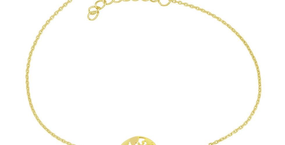 Armband Elenor 925 Sterling Silber vergoldet