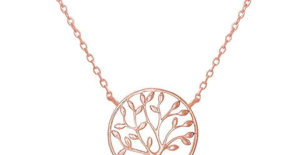 Kette Charlotta 925 Sterling Silber rosévergoldet