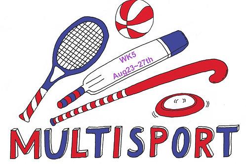 Multisport @ AlbertRec 9am~3:30pm daily Summer 2021