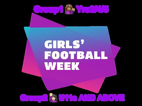 June HalfTerm GIRLS WEEK @ AlbertRec 9~3:30pm daily June 1st ~ 4th 2021