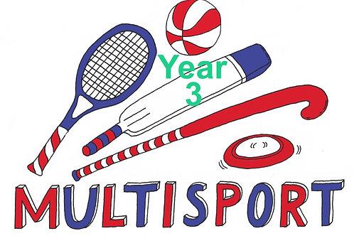 Year 3 Bubble Full Week Multisport June HalfTerm  @MHPS
