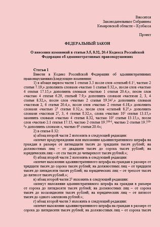 Предварительное рассмотрение Законопроекта № 891642-7