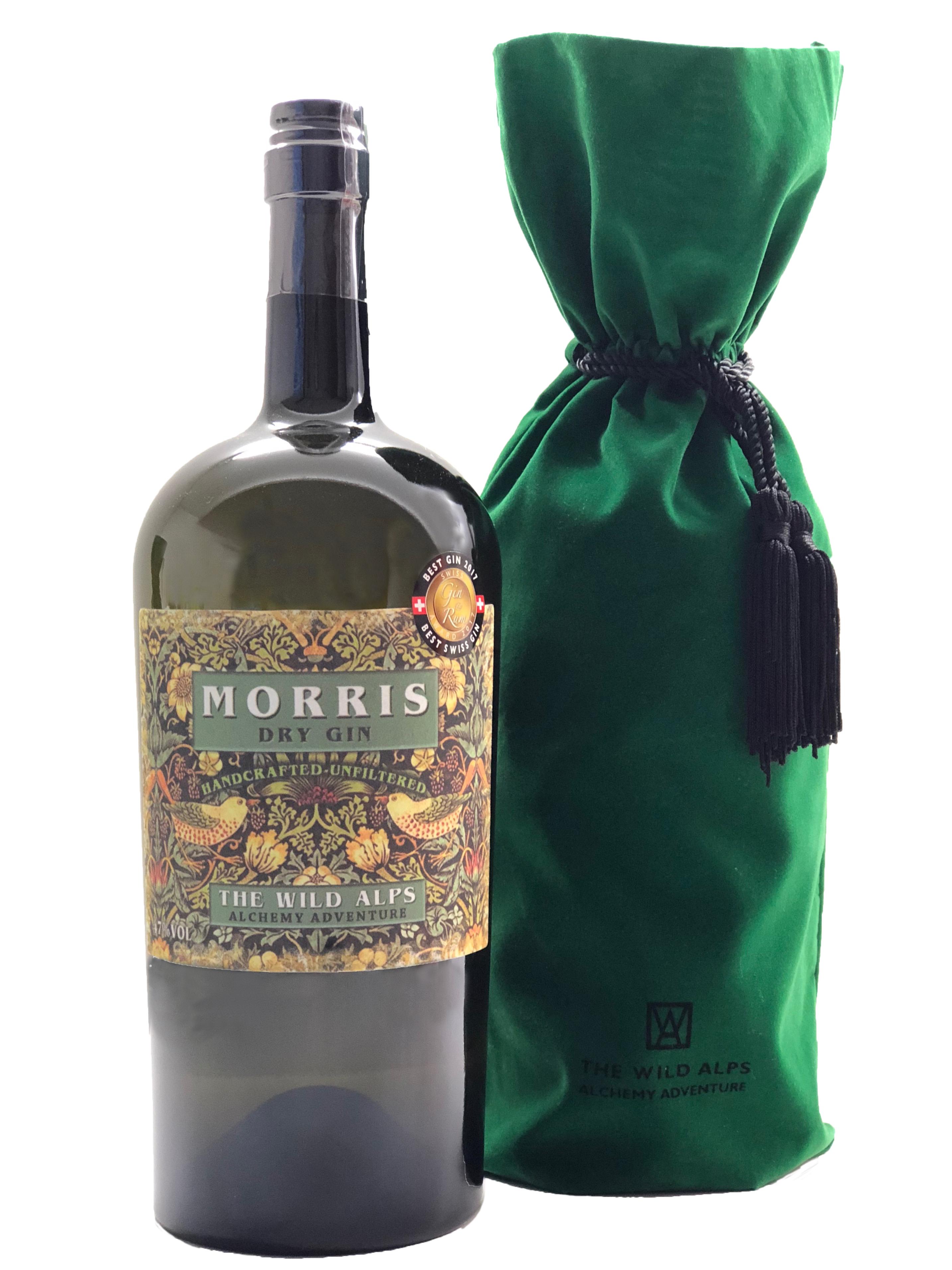 3 Liter Flasche Morris mit Samtbeutel
