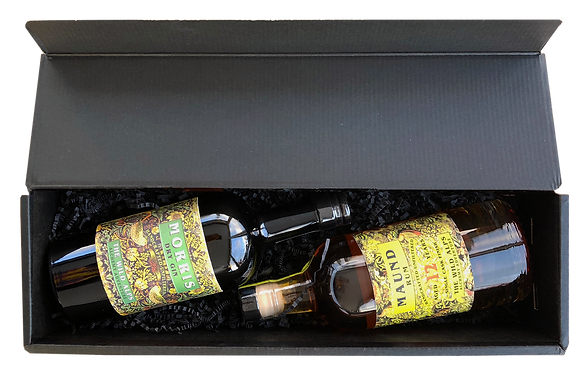 Double Gold Set - MORRIS Gin & MAUND Rum Package