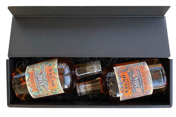 """DOUBLE Set – MAUND WHISKY """"FOUNDERS RESERVE"""" & """" SINGLE CASK"""""""