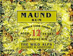 MAUND Rum 12 years aged