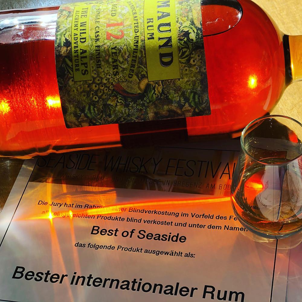 MAUND Rum 12y mit Urkunde
