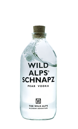 WILD ALPS SCHNAPZ - Pear Vodka 500 ml