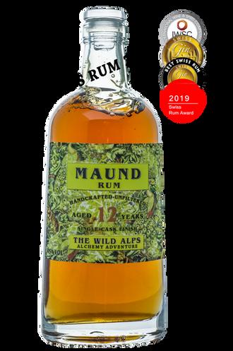 """MAUND Rum """"Best Swiss Rum 2019"""""""